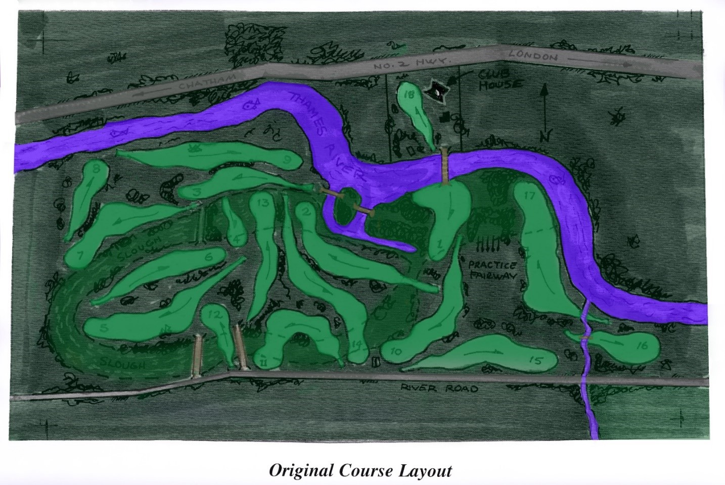 Original Course Layout